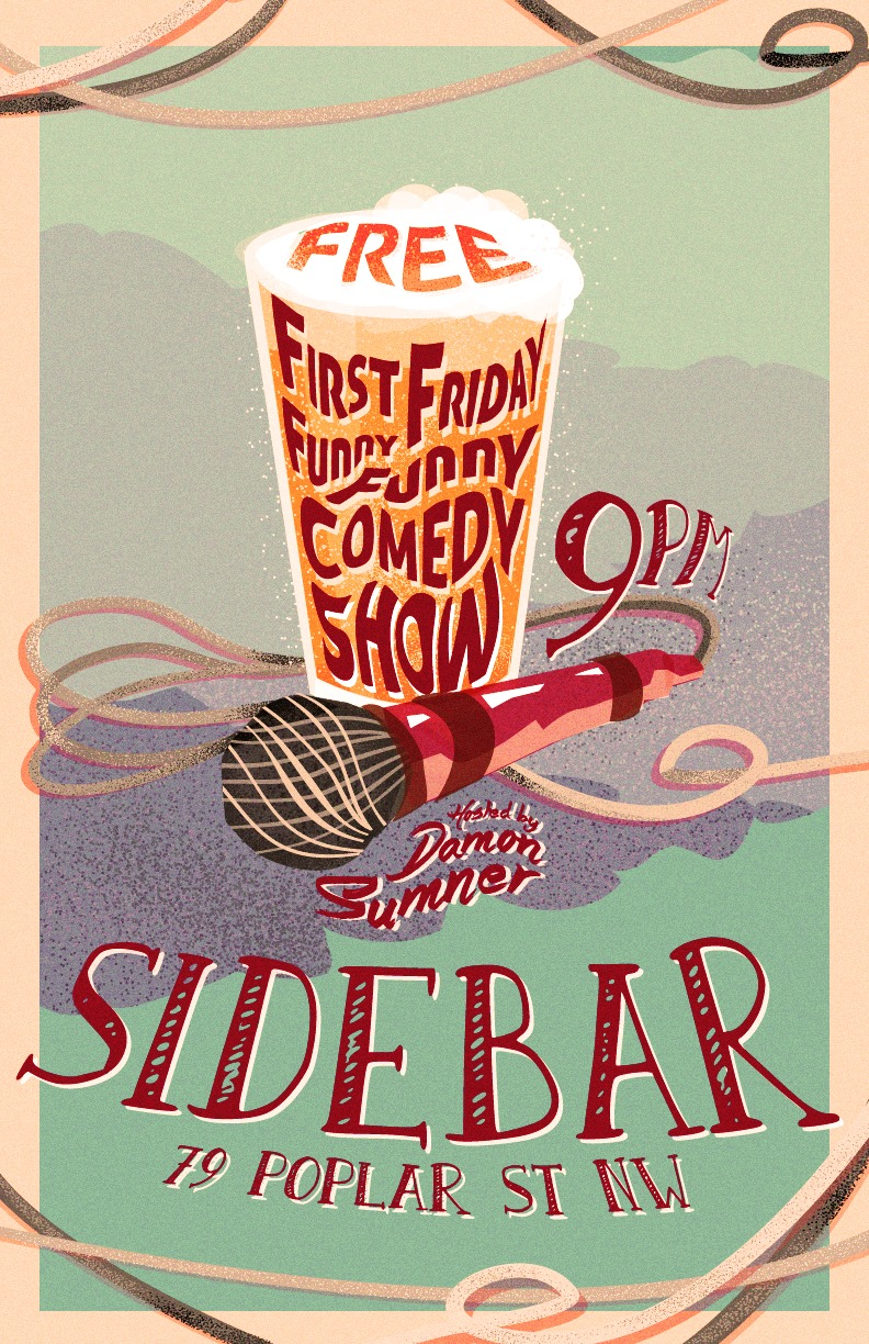 First Friday Funny Funny Comedy Show